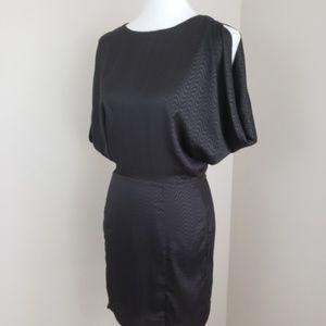Ark & Co Black Open Back Dress